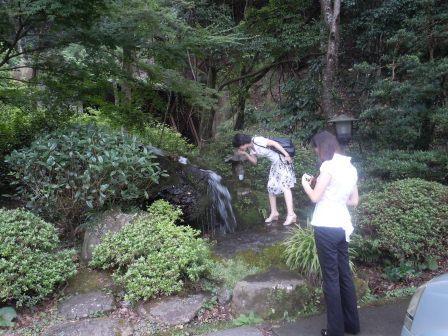 龍門峡の水(2011-08-25)