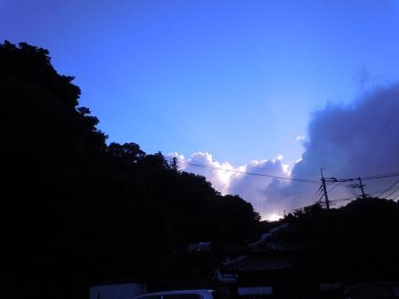 夕景1(2011-06-28 19:00)