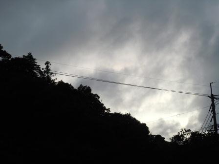 七夕の夕景2(2011-07-07 19:30)