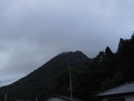 七夕の英山(2011-07-07 19:30)