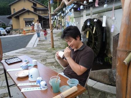 風鈴まつり絵付(2011-07-08)