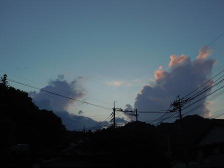 夕景(2011-07-12)