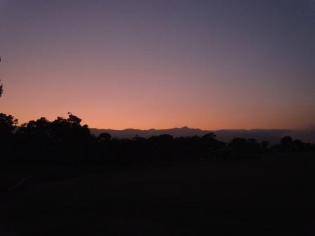 国見山の夕景1(2011-07-22)