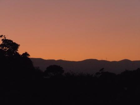 国見山の夕景5(2011-07-22)