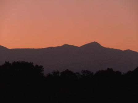国見山の夕景3(2011-07-22)