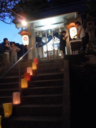 弁財天夏祭り2(2011-08-09)