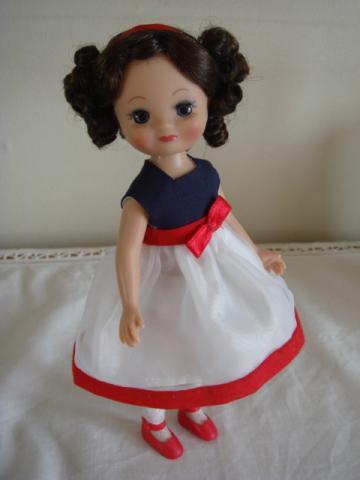 tiny betsy Vintage American