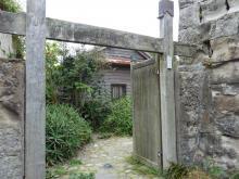 平野家の門