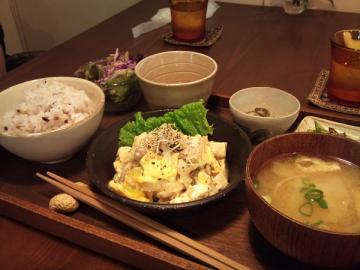 豚と豆腐の塩チャンプルー2
