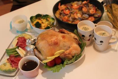 クリスマスご飯2