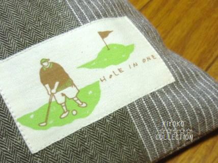 6月30日ゴルフボール巾着2