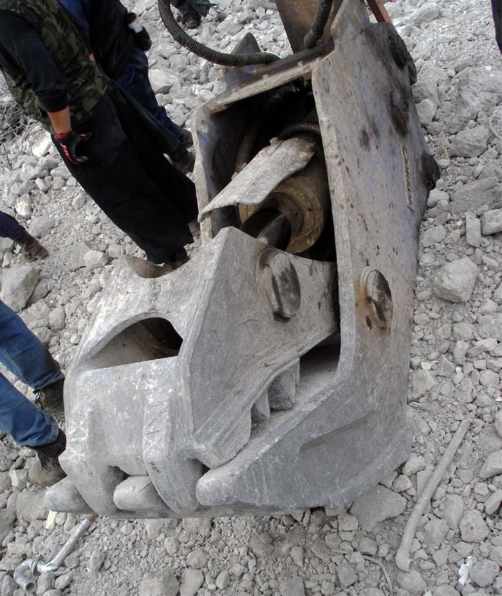 恐竜の頭骨化石②