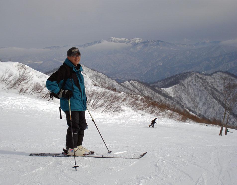 天神平でスキー③