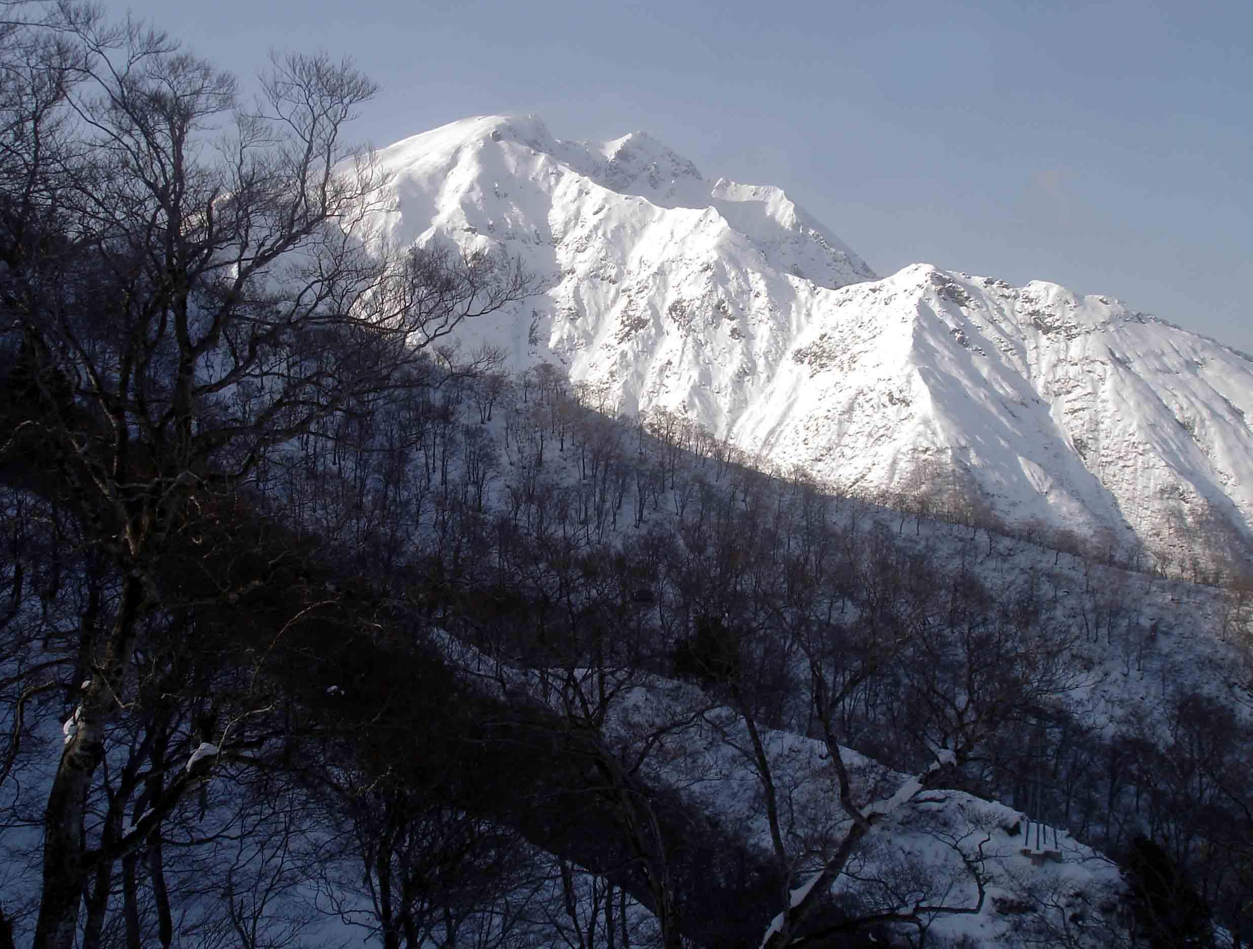 田尻沢ルートから谷川岳