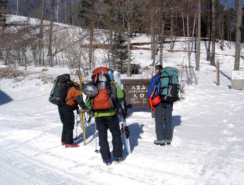 (4)雪崩講習会へ