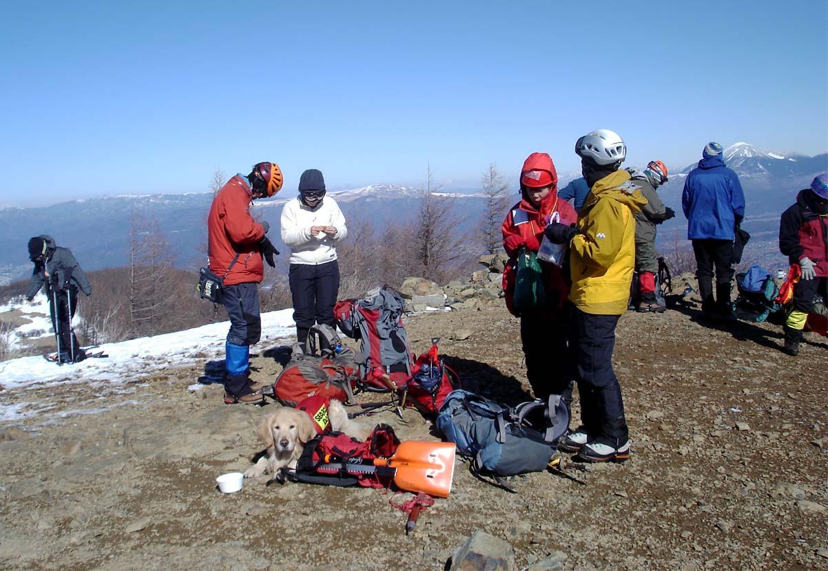 (42)山頂で一休み