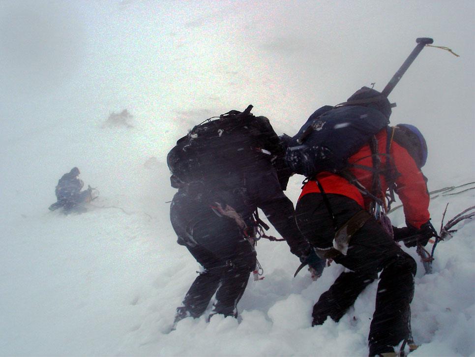 2月11日 雪庇観察準備④