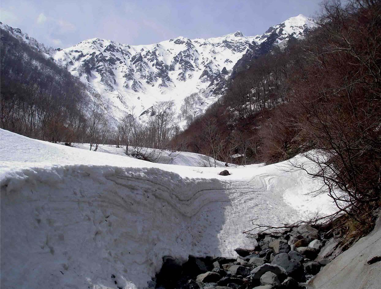 雪中訓練(12) マチガ沢