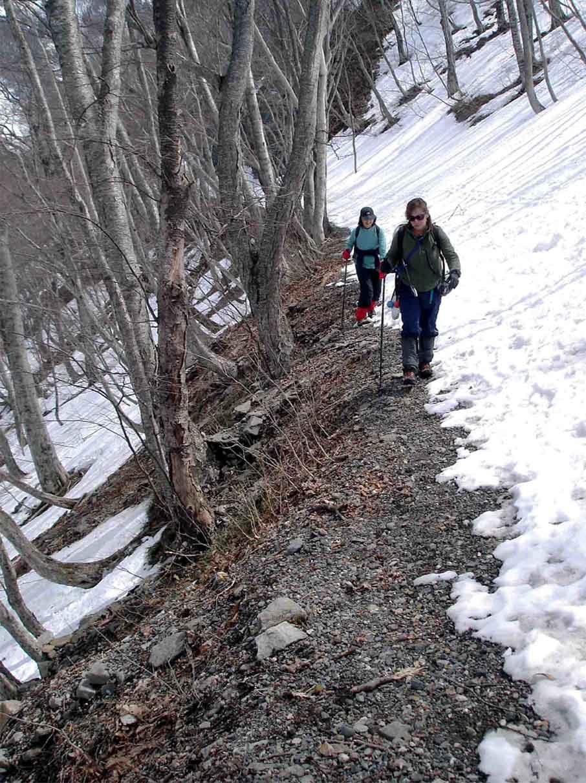 雪中訓練(16) 一ノ倉沢への道