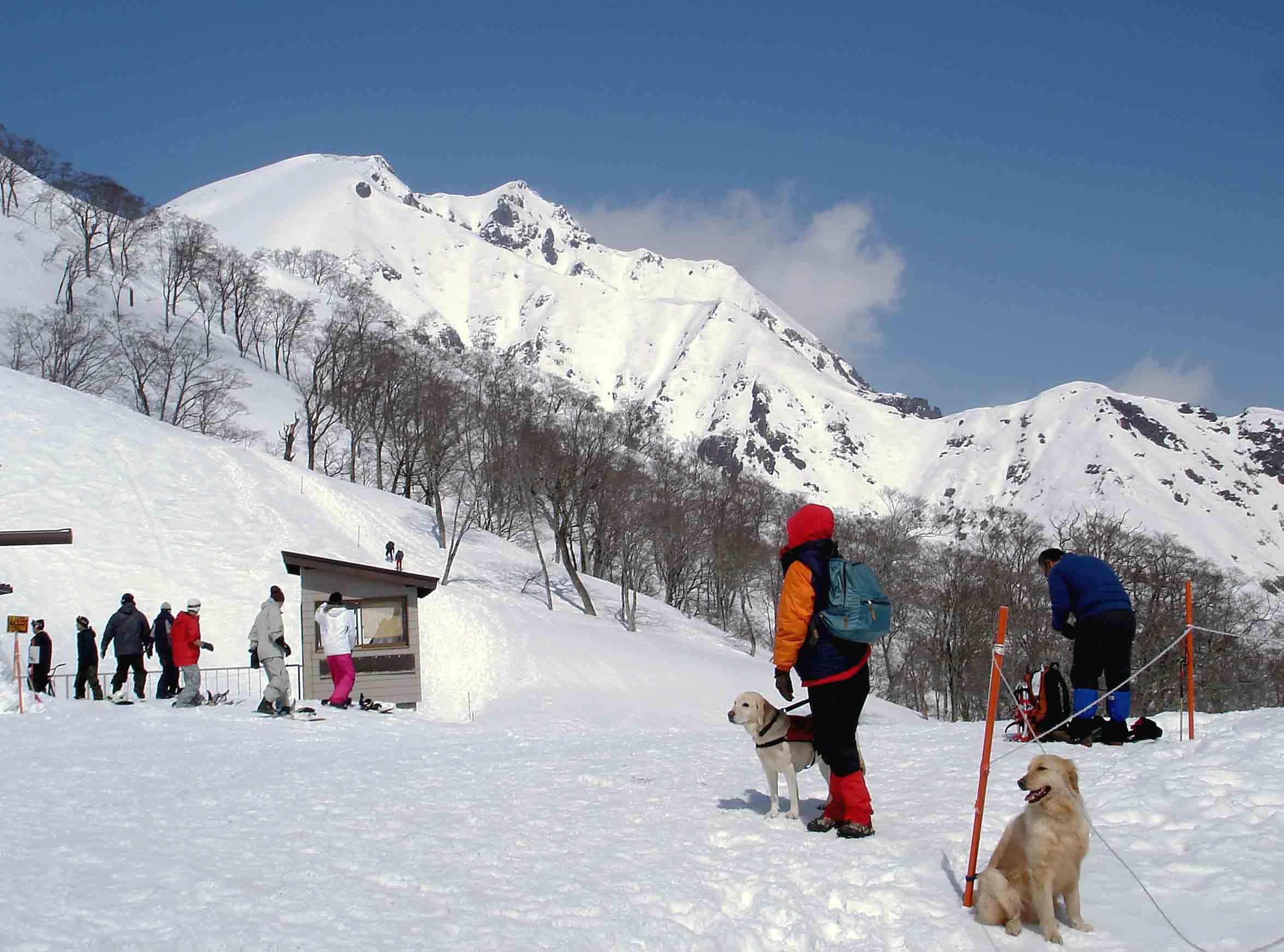 雪中訓練Ⅱ(4) 天神平到着