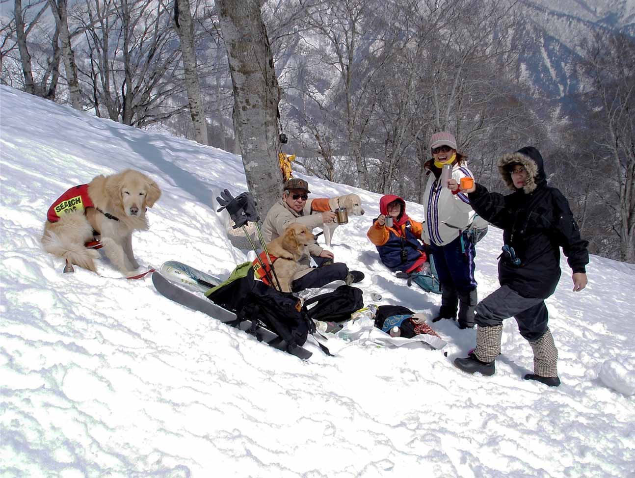 雪中訓練Ⅱ(9) 雪上の至福