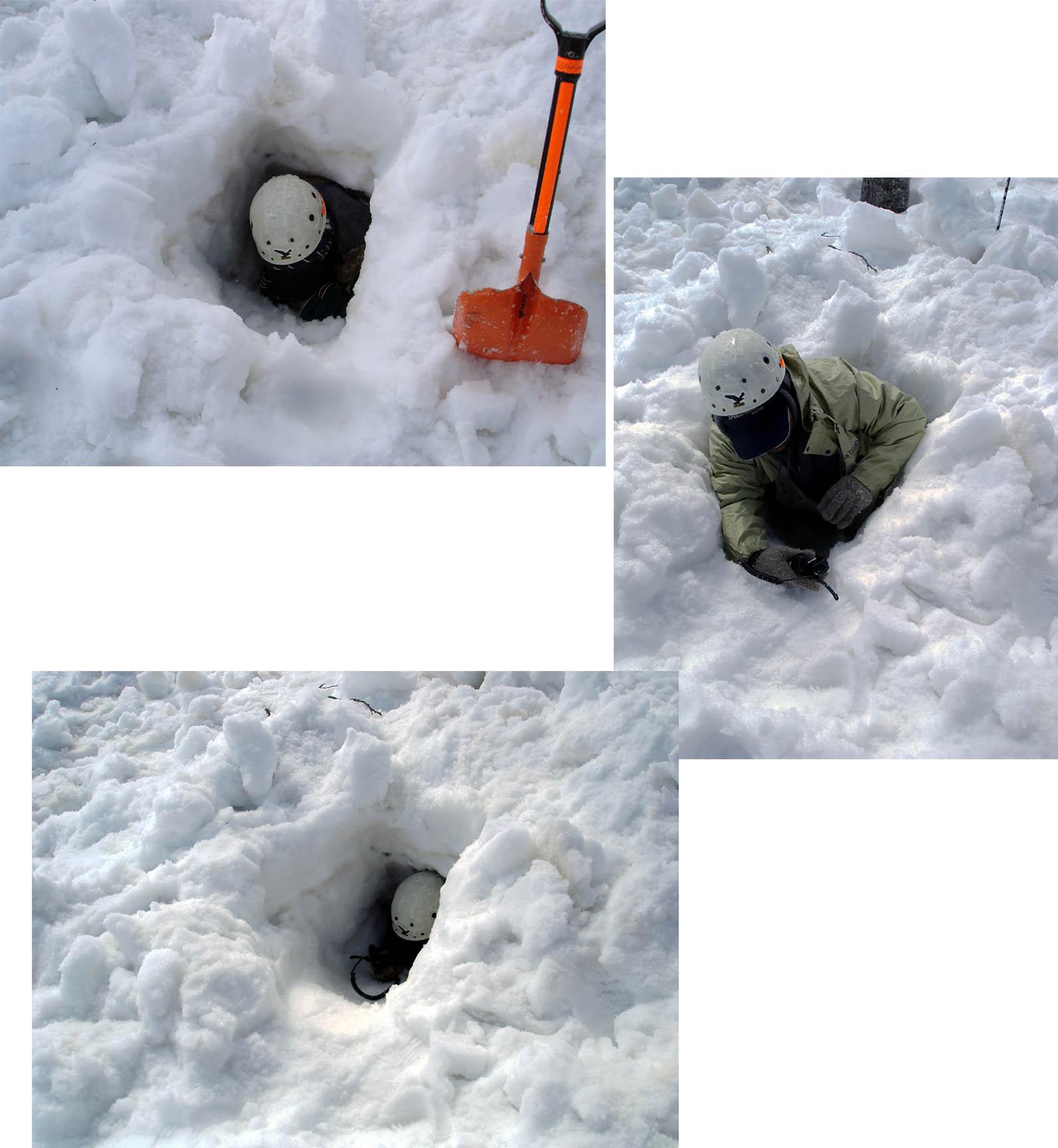 雪中訓練Ⅱ(28) ヘルパー交代