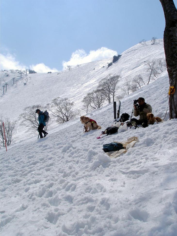 雪中訓練Ⅱ(36) そろそろ終了