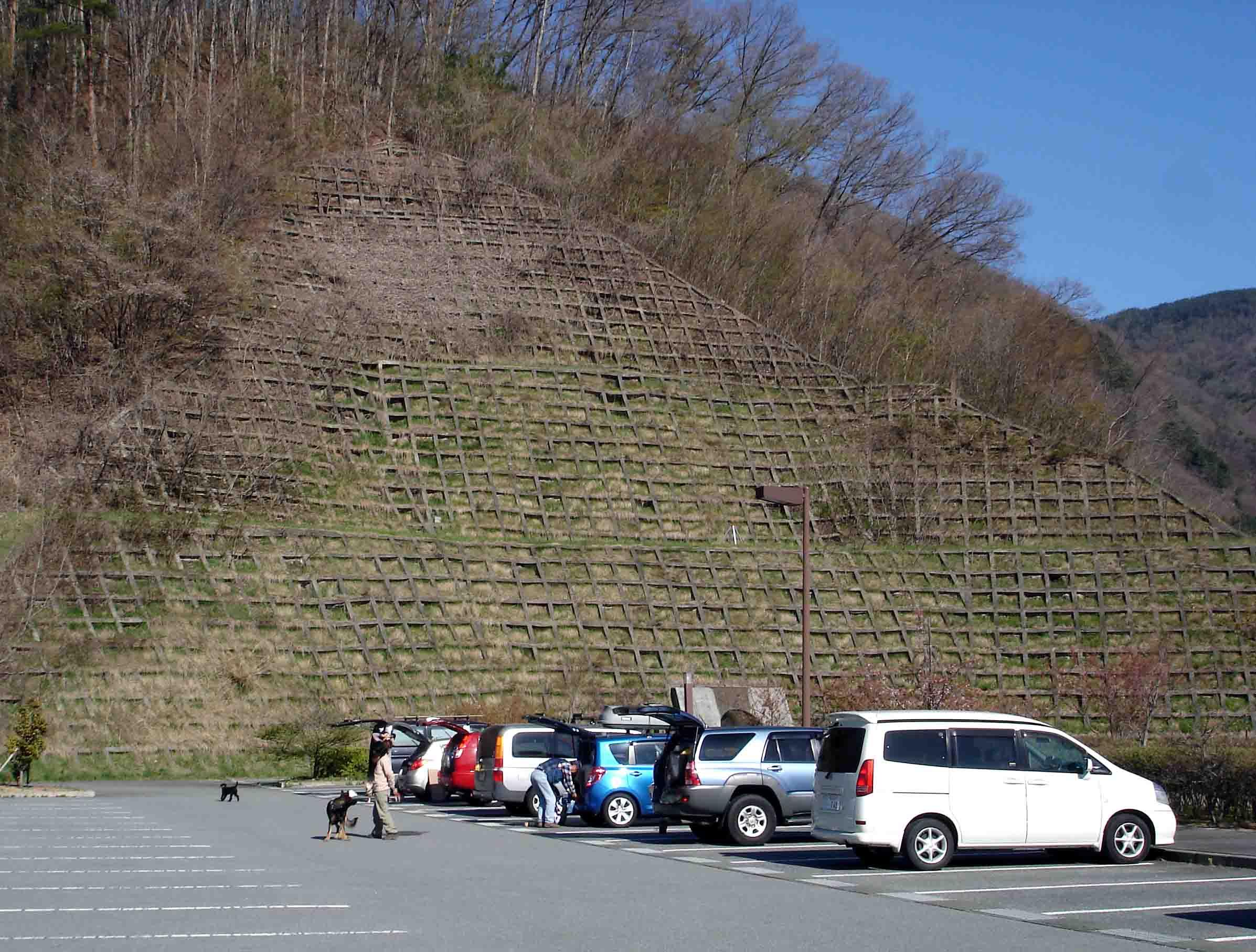 川上村TC-2 川上村への道(P)にて