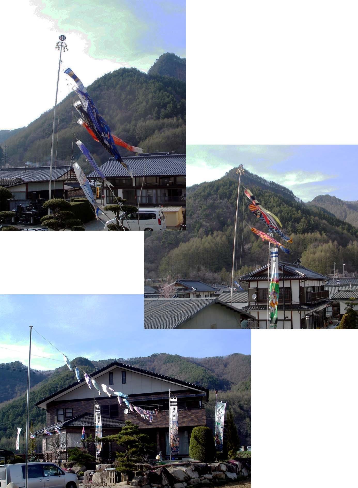 川上村TC-29 川上村の鯉のぼり⑥