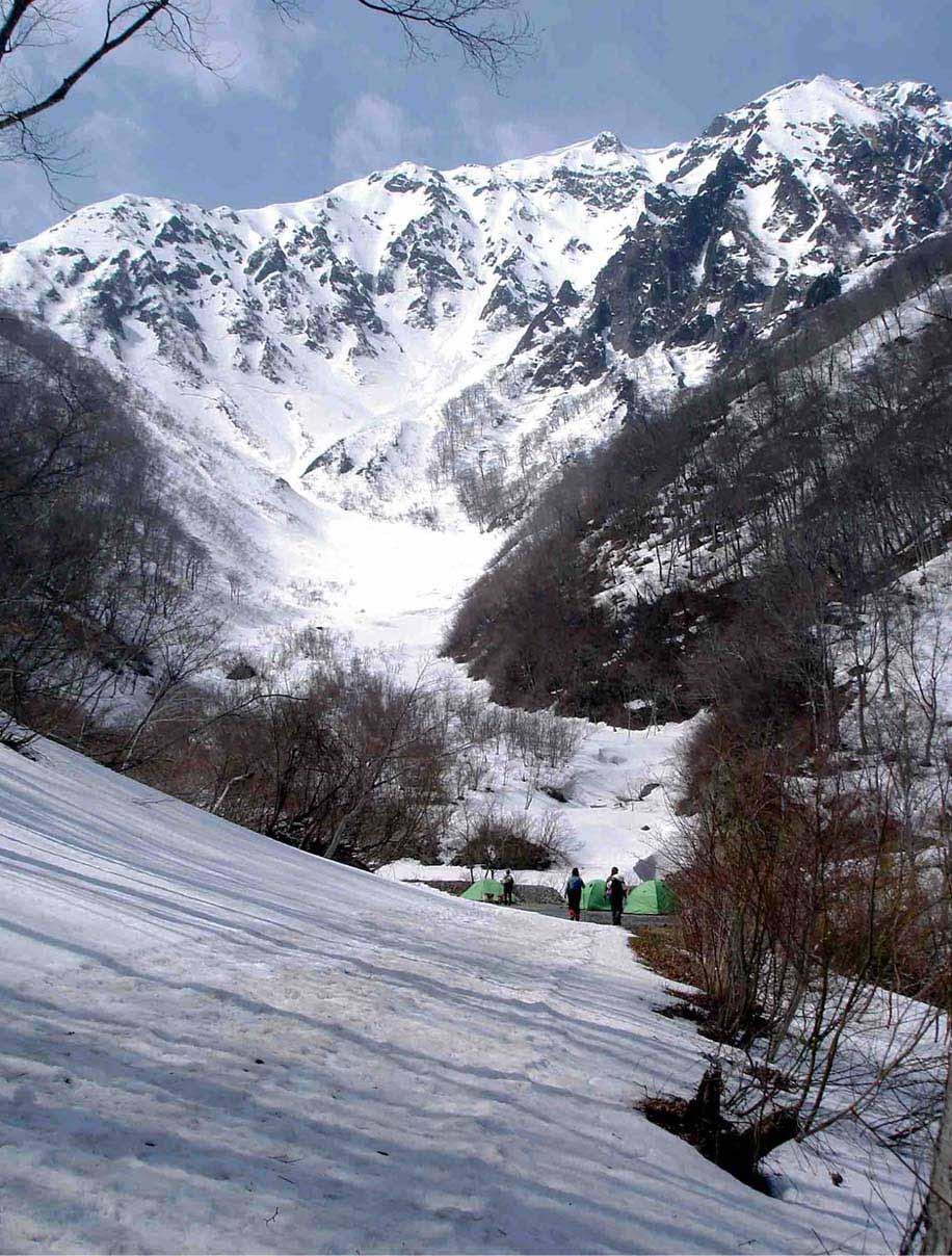 雪中訓練(9) マチガ沢