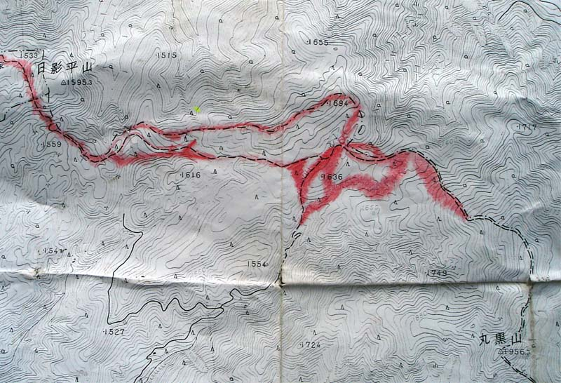 丸黒山捜索(2006.5.11~13)⑥