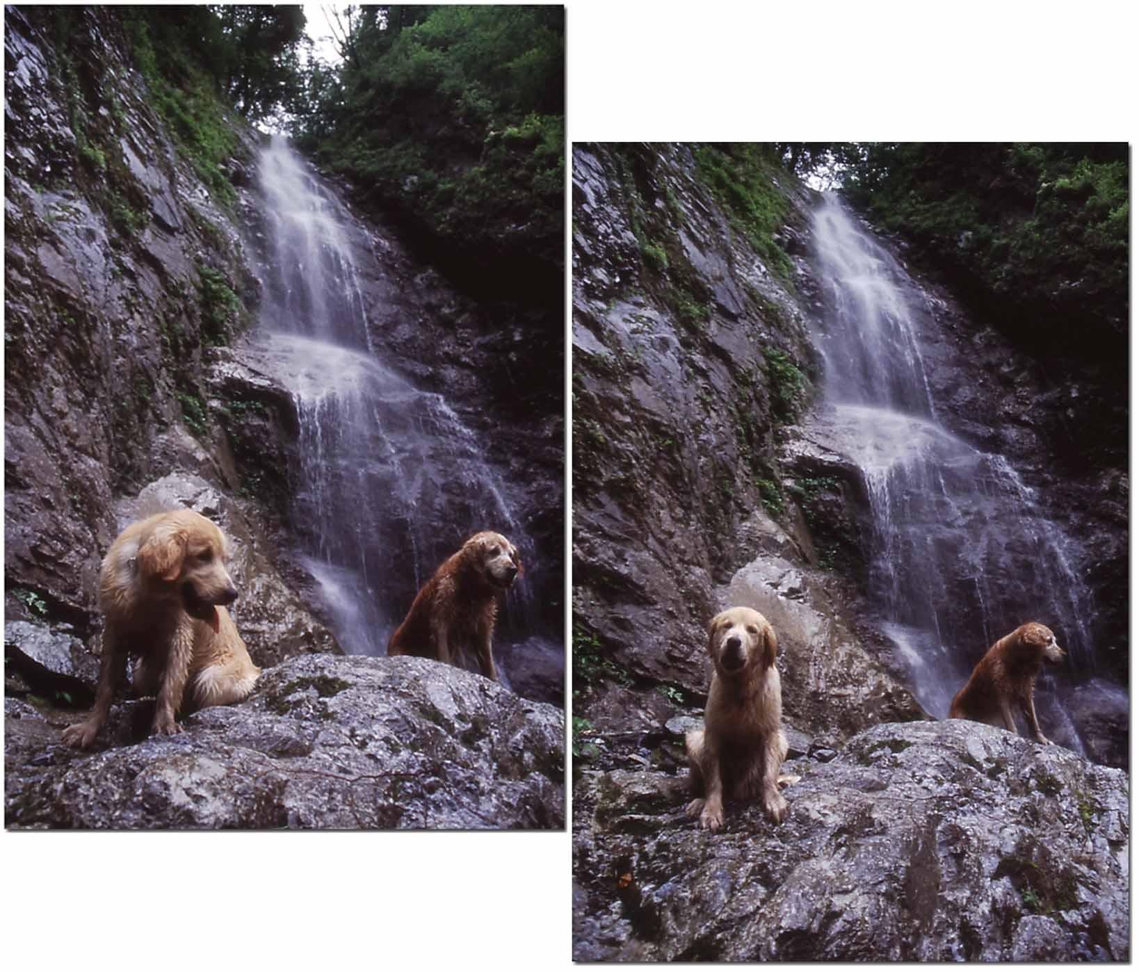 2003年7月の三峰川 NW(7)~(8) 圧縮