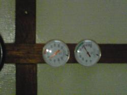 2010年元旦の気温