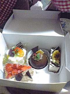 誕生日用ケーキ