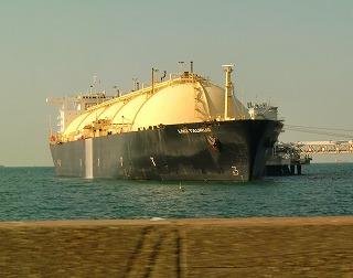 天然ガスタンカー