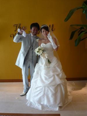 結婚式新郎新婦