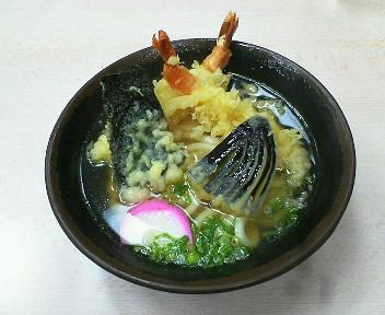 天ぷらうどん500円