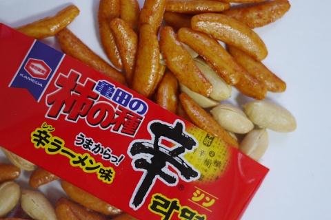 120923亀田の柿の種辛ラーメン味3