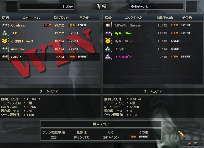 4.4更新クラン戦3