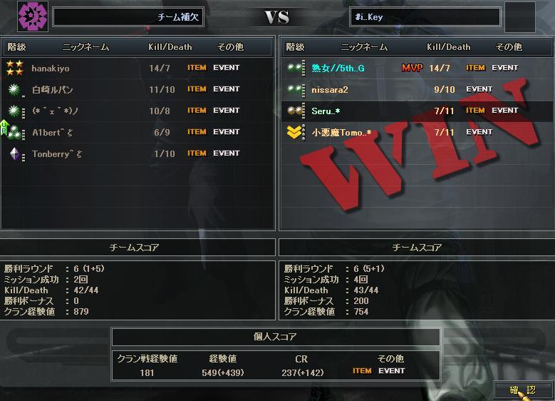4.4更新クラン戦