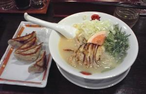 白湯鶏チャーシュー