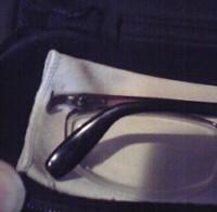 貴重な眼鏡が…