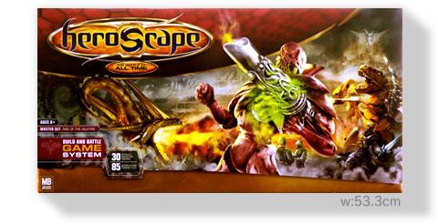ヒーロースケープ基本セット1:箱