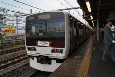 E231系ヤテ502編成。