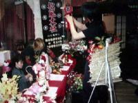 2002年11月3日しぇいむれす東海ワンマンみんなで飾りつけ