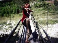 2002年秋 巡業吊橋