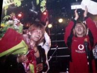 2003年6月1日しぇいむれす10周年花束贈呈