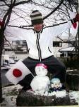 2003年雪だるま