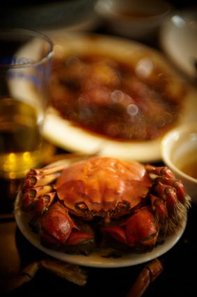 ちょっと早いが上海蟹を