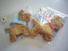 テリアのクッキー